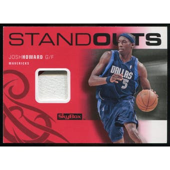 2008/09 Upper Deck SkyBox Standouts Patches #SOJH Josh Howard /25