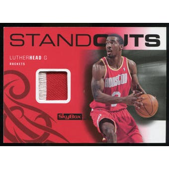 2008/09 Upper Deck SkyBox Standouts Patches #SOLH Luther Head /25