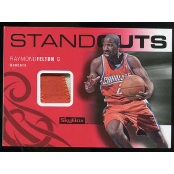 2008/09 Upper Deck SkyBox Standouts Patches #SORF Raymond Felton /25