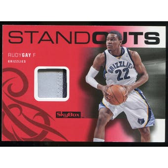 2008/09 Upper Deck SkyBox Standouts Patches #SORG Rudy Gay /25