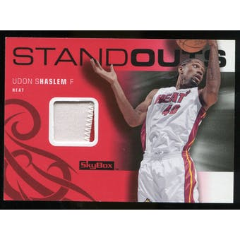 2008/09 Upper Deck SkyBox Standouts Patches #SOUH Udonis Haslem /25