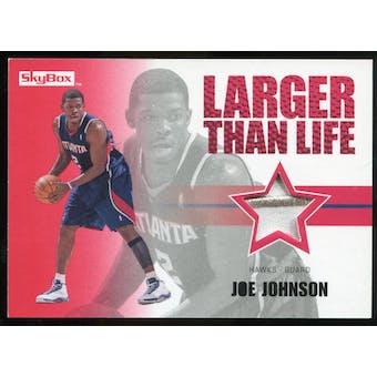 2008/09 Upper Deck SkyBox Larger Than Life Patches #LLJJ Joe Johnson /25