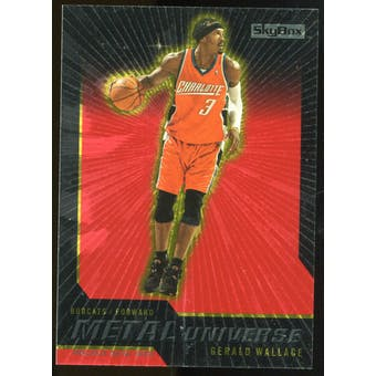2008/09 Upper Deck SkyBox Metal Universe Precious Metal Gems Red #57 Gerald Wallace /50