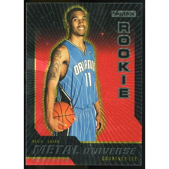 2008/09 Upper Deck SkyBox Metal Universe Precious Metal Gems Red #92 Courtney Lee /50