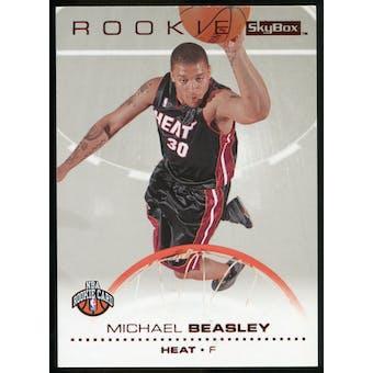 2008/09 Upper Deck SkyBox Ruby #202 Michael Beasley /50