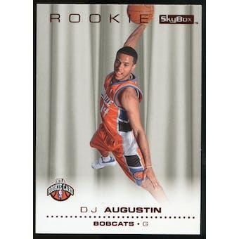 2008/09 Upper Deck SkyBox Ruby #209 D.J. Augustin /50