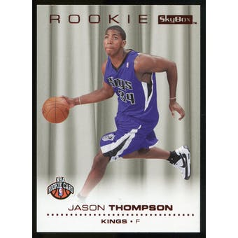 2008/09 Upper Deck SkyBox Ruby #212 Jason Thompson /50