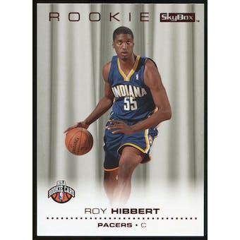 2008/09 Upper Deck SkyBox Ruby #215 Roy Hibbert /50