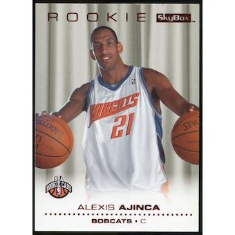 2008/09 Upper Deck SkyBox Ruby #216 Alexis Ajinca /50