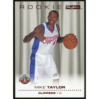 2008/09 Upper Deck SkyBox Ruby #222 Mike Taylor /50