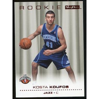 2008/09 Upper Deck SkyBox Ruby #223 Kosta Koufos /50