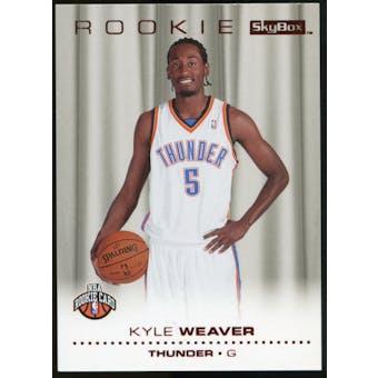 2008/09 Upper Deck SkyBox Ruby #224 Kyle Weaver /50