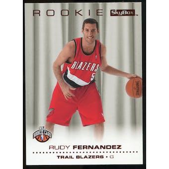 2008/09 Upper Deck SkyBox Ruby #225 Rudy Fernandez /50