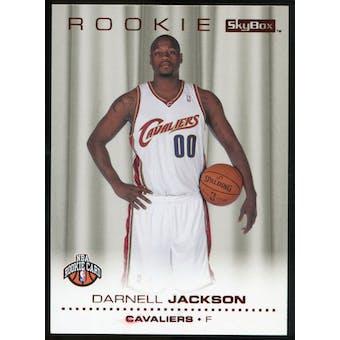 2008/09 Upper Deck SkyBox Ruby #229 Darnell Jackson /50