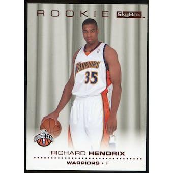 2008/09 Upper Deck SkyBox Ruby #230 Richard Hendrix /50