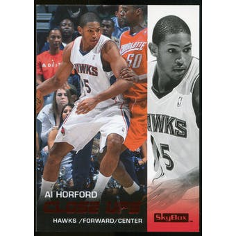 2008/09 Upper Deck SkyBox Ruby #171 Al Horford CU /50