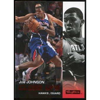 2008/09 Upper Deck SkyBox Ruby #172 Joe Johnson CU /50