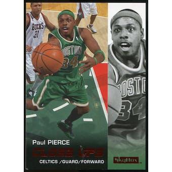 2008/09 Upper Deck SkyBox Ruby #174 Paul Pierce CU /50