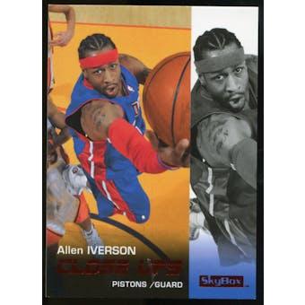 2008/09 Upper Deck SkyBox Ruby #181 Allen Iverson CU /50