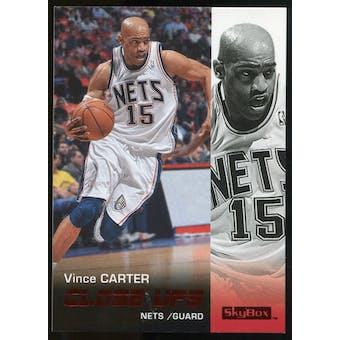2008/09 Upper Deck SkyBox Ruby #188 Vince Carter CU /50