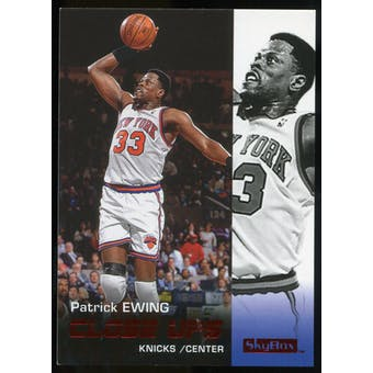 2008/09 Upper Deck SkyBox Ruby #190 Patrick Ewing CU /50