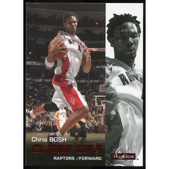 2008/09 Upper Deck SkyBox Ruby #198 Chris Bosh CU /50