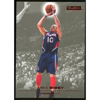 2008/09 Upper Deck SkyBox Ruby #1 Mike Bibby /50