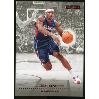2008/09 Upper Deck SkyBox Ruby #5 Josh Smith /50