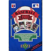 1989 Upper Deck High # Baseball Wax Box (Reed Buy)