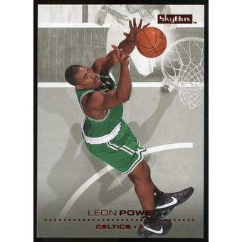 2008/09 Upper Deck SkyBox Ruby #11 Leon Powe /50