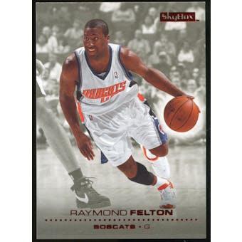 2008/09 Upper Deck SkyBox Ruby #13 Raymond Felton /50