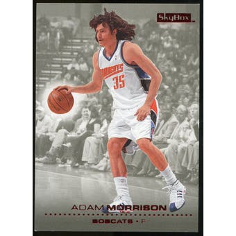 2008/09 Upper Deck SkyBox Ruby #14 Adam Morrison /50