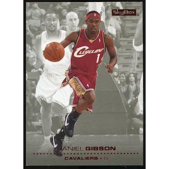 2008/09 Upper Deck SkyBox Ruby #24 Daniel Gibson /50