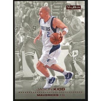 2008/09 Upper Deck SkyBox Ruby #31 Jason Kidd /50