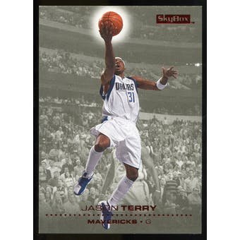 2008/09 Upper Deck SkyBox Ruby #33 Jason Terry /50
