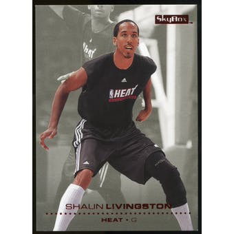 2008/09 Upper Deck SkyBox Ruby #35 Shaun Livingston /50