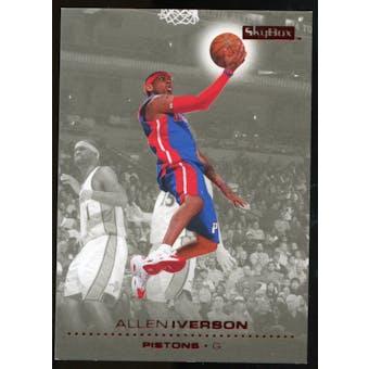 2008/09 Upper Deck SkyBox Ruby #39 Allen Iverson /50