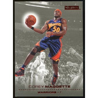 2008/09 Upper Deck SkyBox Ruby #47 Corey Maggette /50