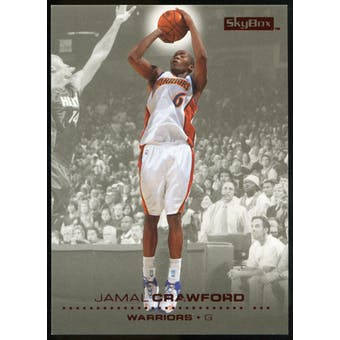 2008/09 Upper Deck SkyBox Ruby #49 Jamal Crawford /50