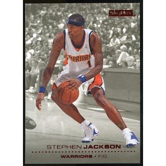 2008/09 Upper Deck SkyBox Ruby #50 Stephen Jackson /50