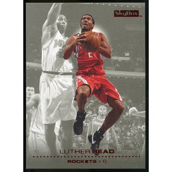 2008/09 Upper Deck SkyBox Ruby #52 Luther Head /50