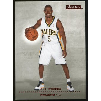 2008/09 Upper Deck SkyBox Ruby #60 T.J. Ford /50