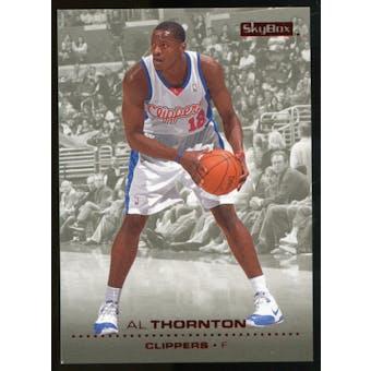 2008/09 Upper Deck SkyBox Ruby #67 Al Thornton /50