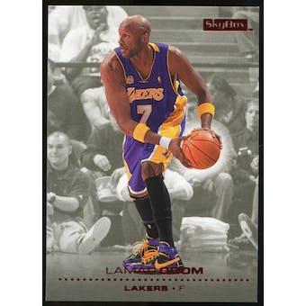 2008/09 Upper Deck SkyBox Ruby #72 Lamar Odom /50
