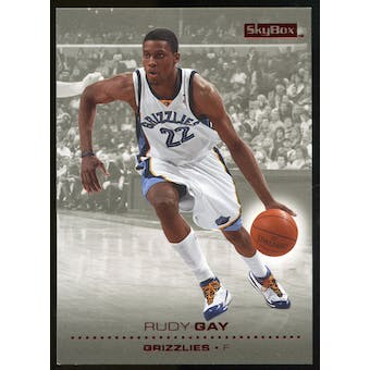 2008/09 Upper Deck SkyBox Ruby #75 Rudy Gay /50