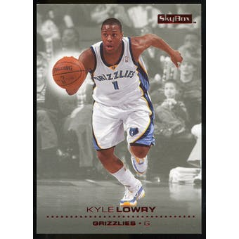2008/09 Upper Deck SkyBox Ruby #76 Kyle Lowry /50