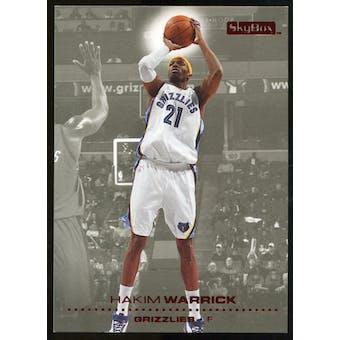 2008/09 Upper Deck SkyBox Ruby #78 Hakim Warrick /50