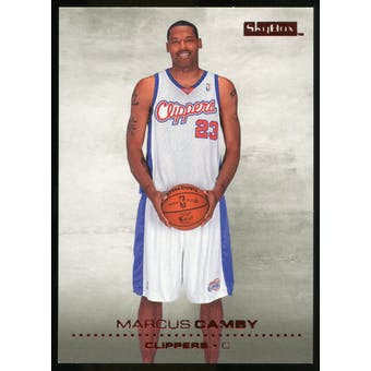 2008/09 Upper Deck SkyBox Ruby #80 Marcus Camby /50