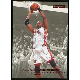 2008/09 Upper Deck SkyBox Ruby #83 Alonzo Mourning /50