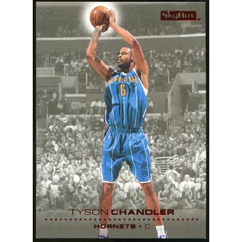 2008/09 Upper Deck SkyBox Ruby #102 Tyson Chandler /50